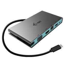 i-tec USB-C 4K HDMI, VGA, 20cm USB-C kabel (C31TRAVELDOCKPD20)