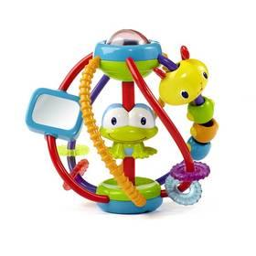 Bright Starts Clack & Slide Activity Ball™ červená/modrá/žlutá/zelená