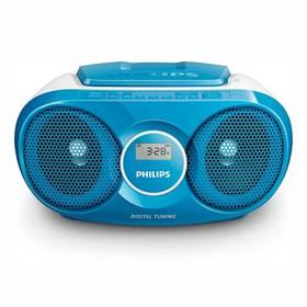 Philips AZ215N modrý
