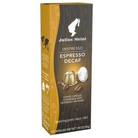 Julius Meinl Inspresso Espresso Decaf, 10x 5,4 g