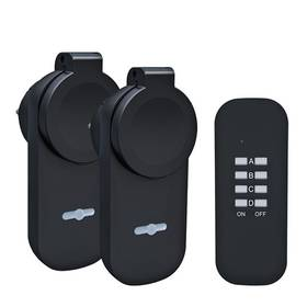 Solight venkovní, 2 zásuvky, 1 ovladač (DY12)