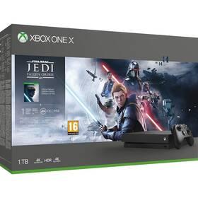 Konsola do gier Microsoft Xbox One X 1 TB + STAR WARS Jedi: Fallen Order (CYV-00420)