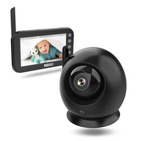 Neno Nero video baby monitor čierna