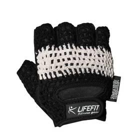 LIFEFIT Knit, vel. L černé/bílé