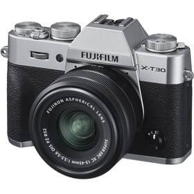 Fujifilm X-T30 + XC15-45 mm stříbrný