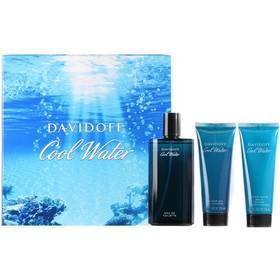 Davidoff Cool Water 125ml + 75ml balsám po holení + 75ml sprchový gel
