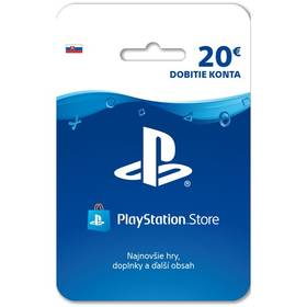 Sony PlayStation Live Cards 20 EUR - pouze pro SK PS Store (PS719899440)