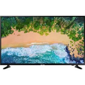 Samsung UE65NU7092 černá 3D Blu-ray přehrávač Samsung BD-J5500, bílý (zdarma)
