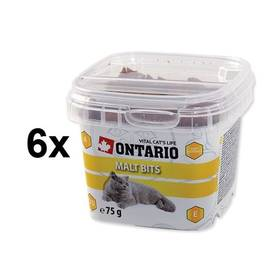 Ontario Snack Malt Bits 6 x 75g