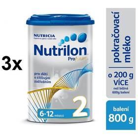 Nutrilon 2 Profutura od ukončeného 6. měsíce, 800g x 3ks + Doprava zdarma