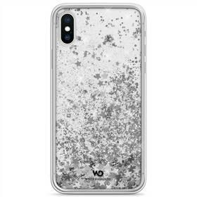 Kryt na mobil White Diamonds Sparkle na Apple iPhone X/Xs (WD1370SPK12) strieborný
