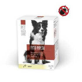 Pet Health Care FYTO pre psov od 10 do 20kg 3x10ml