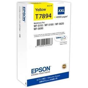 Epson T7894 XXL, 4000 stran (C13T789440) žlutá
