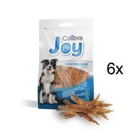 Pochúťka Calibra Joy Dog Ocean Fish & Chicken 6 x 80g