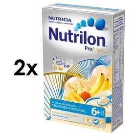 Nutrilon Profutura s meruňkou a banány 6M, 225g x 2ks