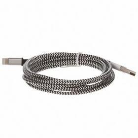 CellFish USB/Lightning, 2m (IPPLUSBKABELSILVER2M) strieborný