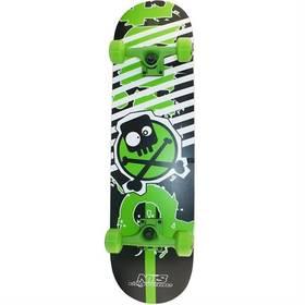 Nils Extreme Point černý/zelený + Reflexní sada 2 SportTeam (pásek, přívěsek, samolepky) - zelené v hodnotě 58 Kč