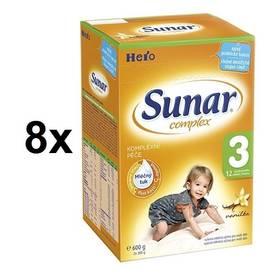 Sunar Complex 3 vanilka, 600g x 8ks + Doprava zdarma