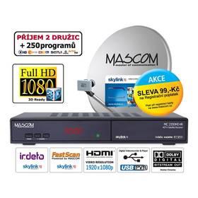 Mascom MC2350/80MBL-M7 černý + Doprava zdarma