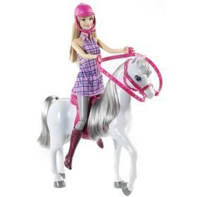 Mattel panenka s koňem + Doprava zdarma