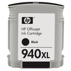 HP No. 940XL, 49ml, 2000 stran - originální (C4906AE) čierna