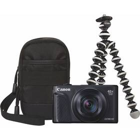 Canon PowerShot SX740 HS, TRAVEL KIT (2955C016) černý