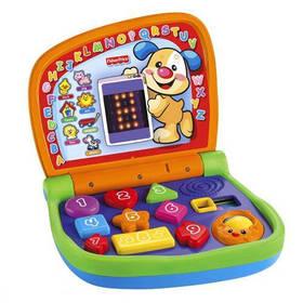 Dětský počítač Mattel Fisher Price dvojjazyčný svítící notebook
