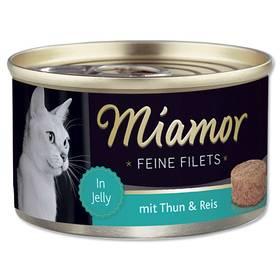 Miamor Filet tuňák + rýže v želé 100g