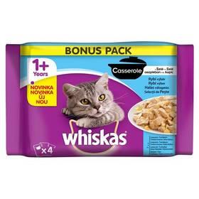 Whiskas Casserole rybí výběr v želé 4pack 4 x 85g