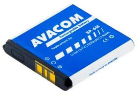 Baterie Avacom pro Nokia 6233, 9300, N73, Li-Ion 3,7V 1070mAh (náhrada BP-6M) (GSNO-BP6M-S1070)