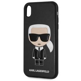Karl Lagerfeld Ikonik Case pro Apple iPhone XR (KLHCI61IKPUBK) černý