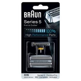 Braun CombiPack Series5 - 51S stříbrné