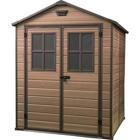 Záhradný domček Keter SCALA 6x8 hnedý