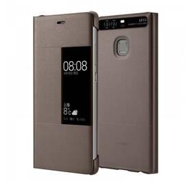 Huawei S-View na P9 Plus hnědé (poškozený obal 8800675982)