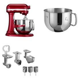 Set KitchenAid - kuchyňský robot 5KSM7580XECA + 5KR7SB mísa 6,9 l + FPPC balíček s příslušenstvím + Doprava zdarma