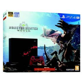 Sony PlayStation 4 Pro 1TB Monster Hunter: World - Limited Edition (PS719370970) + Doprava zdarma
