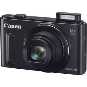 Canon PowerShot SX610 HS (0111C002AA) černý + Doprava zdarma