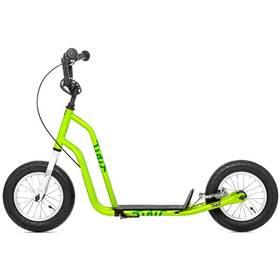 """Yedoo Basic Tidit 12"""" zelená + Reflexní sada 2 SportTeam (pásek, přívěsek, samolepky) - zelené v hodnotě 58 Kč"""