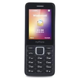 myPhone 6310 Dual SIM (TELMY6310BK) černý SIM s kreditem T-mobile 200Kč Twist Online Internet (zdarma)