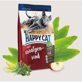 HAPPY CAT ADULT Voralpen-Rind / Alpské hovězí 10 kg