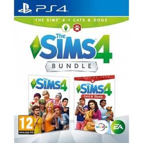 EA PlayStation 4 The Sims 4 Základní hra + Psi a Kočky (EAP472903)