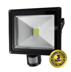 Solight 50W, studená bílá, 3500lm, se senzorem (WM-50WS-E) černý + Doprava zdarma