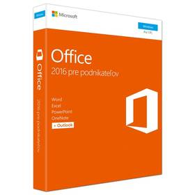 Software Microsoft Office 2016 SK Home and Business pre 1 PC (T5D-02892)