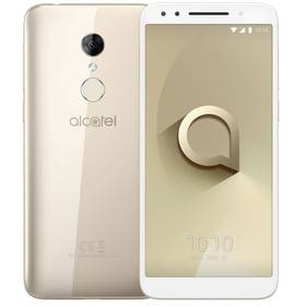 ALCATEL 3 5052D Dual SIM (5052D-2DALE17) zlatý + Doprava zdarma