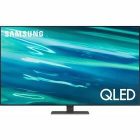 Samsung QE55Q80A stříbrná
