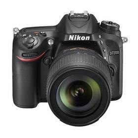 Nikon D7200 + 18-105 AF-S DX VR černý + Doprava zdarma
