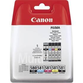 Canon PGI-580/CLI-581 BK/CMYK MULTI BL SEC (2078C006) + Doprava zdarma