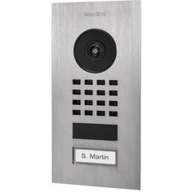 DoorBird D1101V zapuštěná, 1 tlačítko nerez ocel (DB-D1101V-FM)