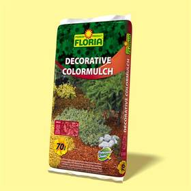 Kôra Agro FLORIA decor. ColorMulch tehlová, 70 l
