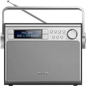 Philips AE5020B stříbrný/dřevo